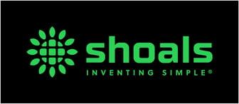 Shoals_Master_Logo_Tagline_Green black background-1